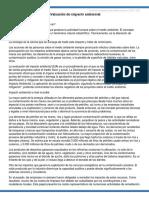 Evaluación de Impacto Ambiental Tarea Gestion Ambiental Pgp 315