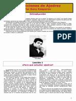 Garry Kasparov Te Enseña 24 Lecciones Del Ajedrez