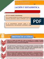 Investigacion y Estadistica - Publicacion