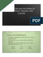 Lectura de gramatica