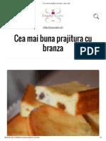 Cea Mai Buna Prajitura Cu Branza - Lucky Cake