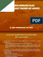 Strategi Peningkatan PAD Di DKI Jakarta Mustopo