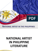 National Artist in the Philippines
