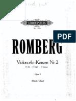 Romberg- Violoncello- Konzert N- 2 Opus 3