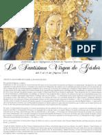 Folleto Virgen de Gador 2004