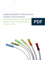 Deloitte Implementing IFRS 15 Revenue From Contracts With Customers - A Practical Guide to Implementation Issues for the Industrial Products and Services Sector 2015