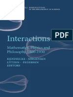 David Hyder (Auth.), Vincent F. Hendricks, Klaus Frovin Jørgensen, Jesper Lützen, Stig Andur Pedersen (Eds.)-Interactions_ Mathematics, Physics and Ph
