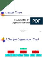 OB-23 Ch03-Fundamentals of Organization Structure