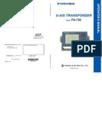 FA150 Operator's Manual