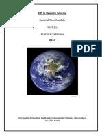 ENVS211 GIS Prac Manual 2017