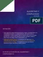Algoritmo y Complejidad (1)