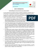 Desarrollo Del Censo Electoral 2017