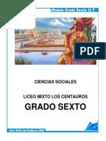 Modulo Sociales 2017 Sexto