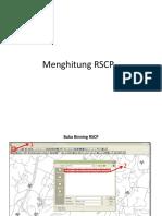 Menghitung RSCP CAC