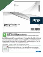 Grade 12 Tourism Pat Phase 2 Answers