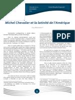 Michel Chevalier et la latinité de l'Amerique