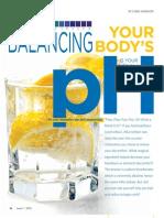 Balancing Your Ph