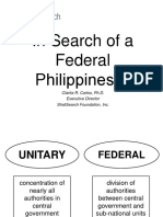 In Search of a Federal Philippines_Dr. Clarita Carlos