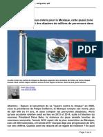 Sanglante Descente Aux Enfers Pour Le Mexique (2017)