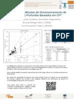 Avaliação de Métodos de Dimensionamento de Fundações Profundas Baseados Em Cpt - Poster