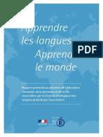 Apprendre Les Langues Apprendre Le Monde