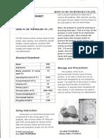 Ficha Tecnica Silicona HY-530
