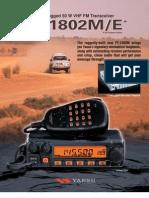 FT 1802M Brochure