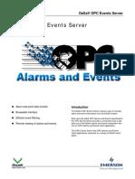 DeltaV OPC Events Server