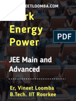 Work, Energy and Power-iit-jee (Jee Main and Advanced)
