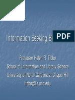 Tibbo Information Seeking Behaviors