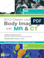 2013 Classic Lectures in Body Imaging With MR - Syllabus