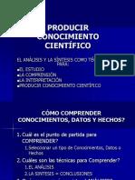 Analisis-sintesis Texto Cientifico