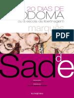 Marquês de Sade - 120 dias de Sodoma ou Escola de Libertinagem.pdf