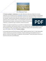 Turismo Ecológico - Wikipedia, La Enciclopedia Libre(1)