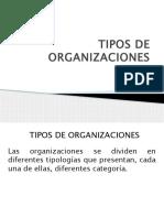 Tipo de Organizaciones