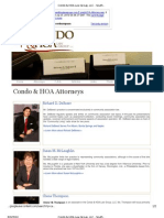 Condo HOA Law Group - Fraud