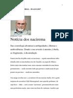 Roberto DaMatta - Notícia dos nacirema - O Globo 09.Ago.2017