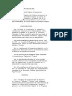 Decreto 4406 de 2004