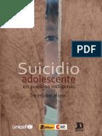 Suicidio Adolescente en Pueblos Indígenasl