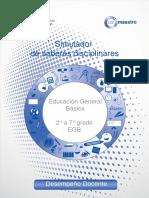 Educacion General Basica 2º a 7º Grado EGB