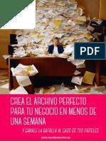 Crea El Archivo Perfecto Para Tu Negocio en Menos de Una Semana