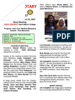 Moraga Rotary Newsletter August 8 2017