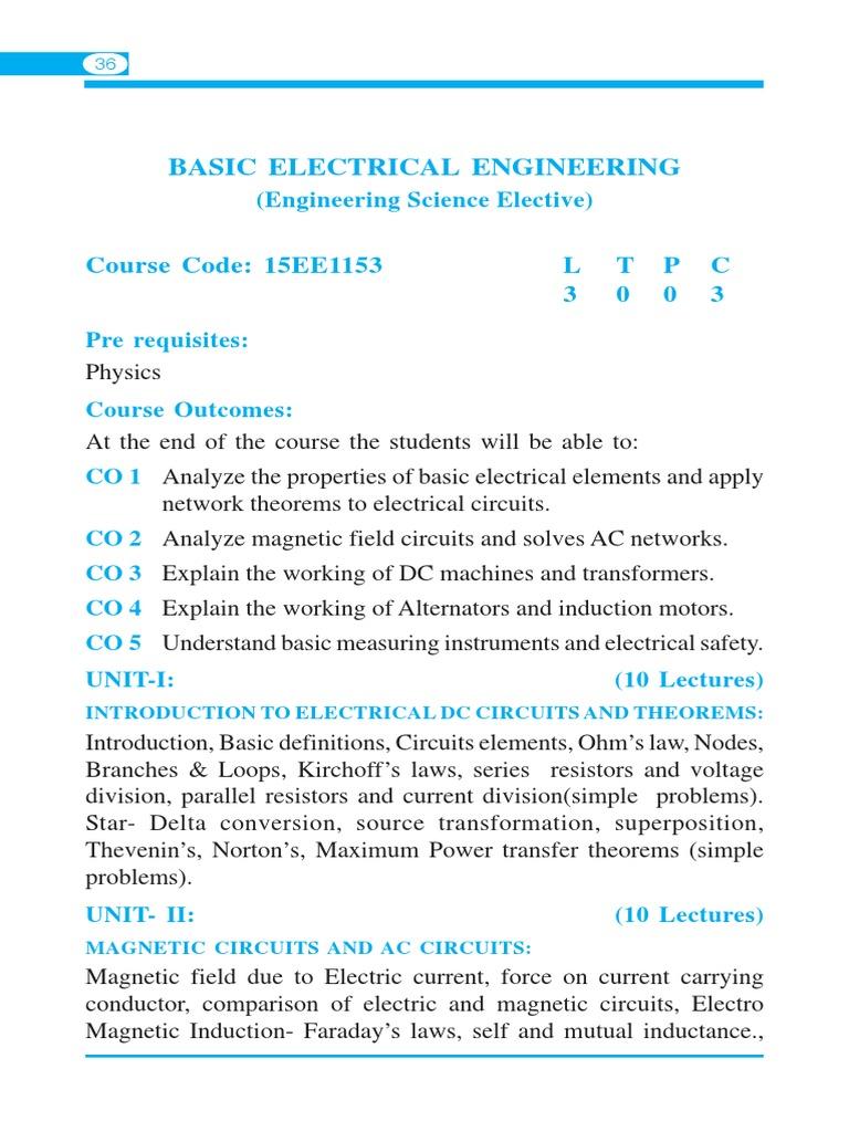 Groß Basic Electrical Codes Ideen - Schaltplan Serie Circuit ...