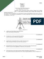 Paper 2 CHEM Form 4 P1 2016
