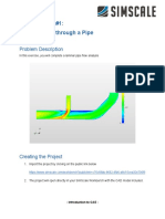 CFD Exercise #1_ Laminar Flow Through a Pipe