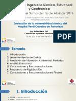 Evaluacion de Vulnerabilidad Sismica Del Hospital Verdi Cevallos Walter Mera