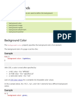 CSS Backgrounds