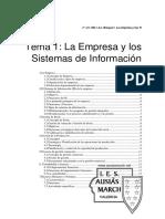 Tema 1 - La Empresa y Los SI[1]