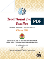 CBSE Traditional Indian Textiles XII