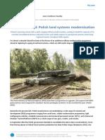 Polish Land Systems Modernisation